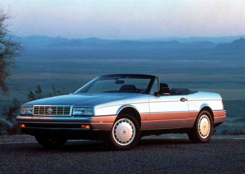 The 1987 Cadillac Allante. Photos courtesy General Motors.