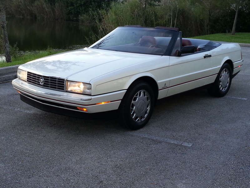 Picture of 1990 Cadillac Allante Base Convertible, exterior