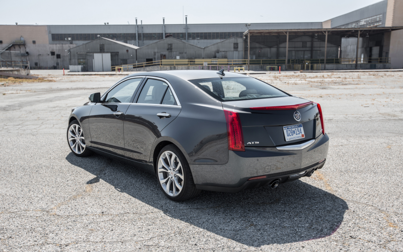 2013 Cadillac Ats Turbo Rear Three Quarters