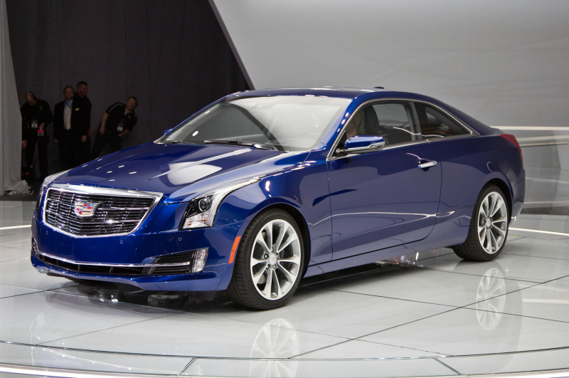 2015 Cadillac Ats Front Three Quarter 02