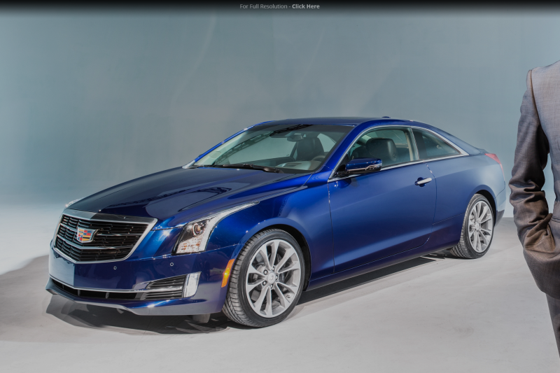 2015 Cadillac ATS Coupe Debuts At 2014 Detroit Auto Show Photo Gallery