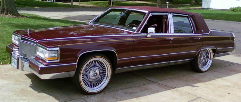 Another mrbigh 1990 Cadillac Brougham post...