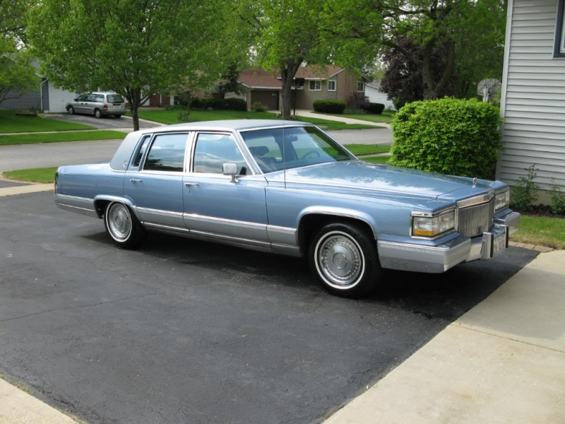 Picture of 1990 Cadillac Brougham Base Sedan, exterior