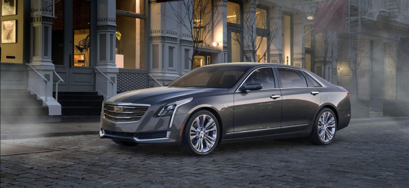 Salon New York 2015 : Cadillac CT6