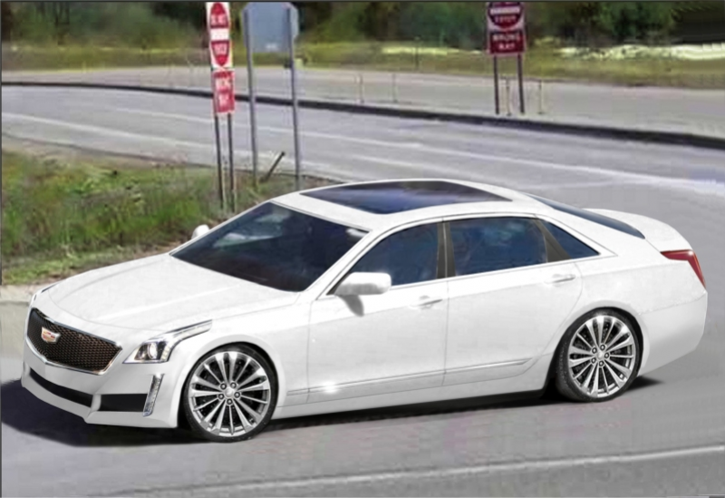 Aw-Shuck; Cadillac CT6's Styling Will Not Be Inspired by the Elmiraj ...