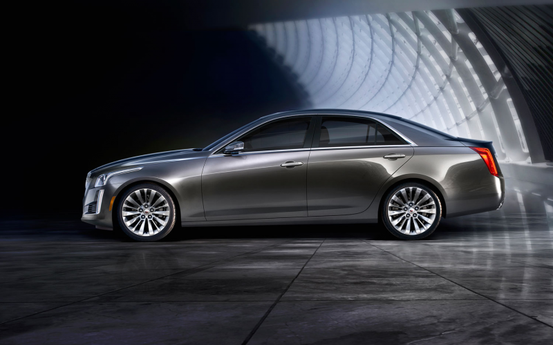 2014 Cadillac Cts Left Side View