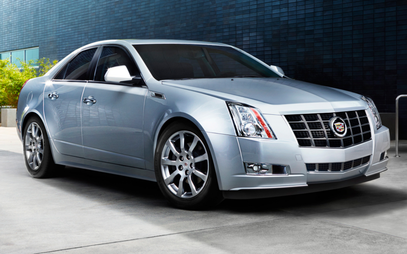 2013 Cadillac Cts Sedan Front Side View