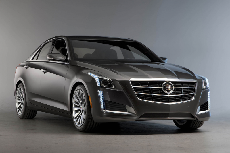 2014 Cadillac CTS Photo Gallery