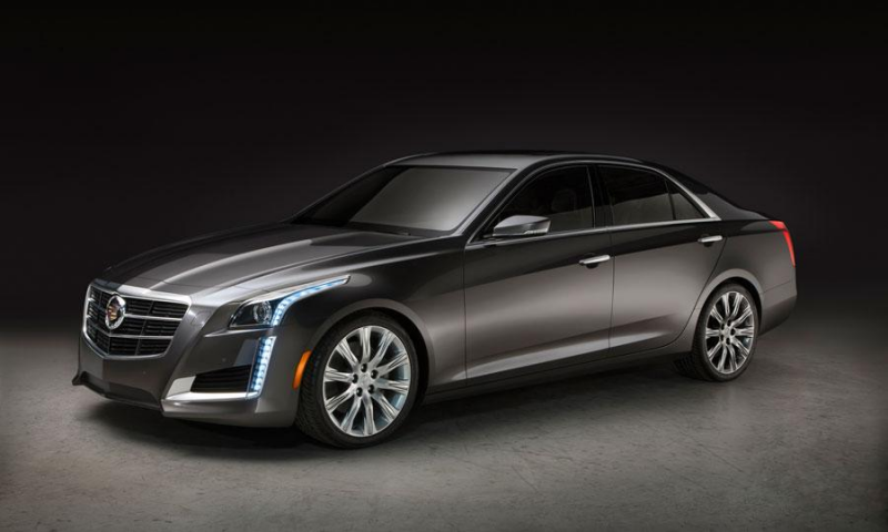 2014 Cadillac CTS Sneak Peek