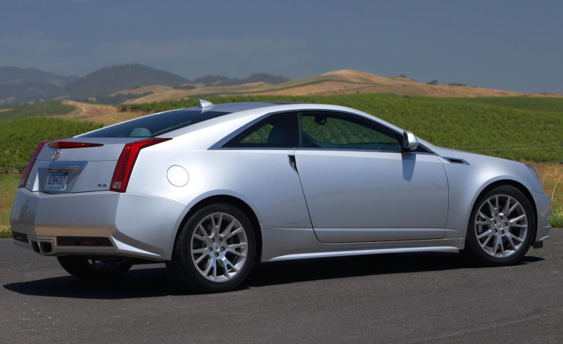 Cadillac CTS Coupé 2014: Prices U.S.A (•Standard RWD: 39,495 USD ...