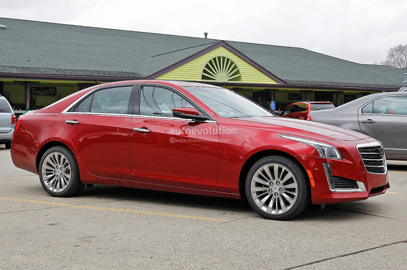2015 Cadillac CTS Spied Without Camo - Photo Gallery