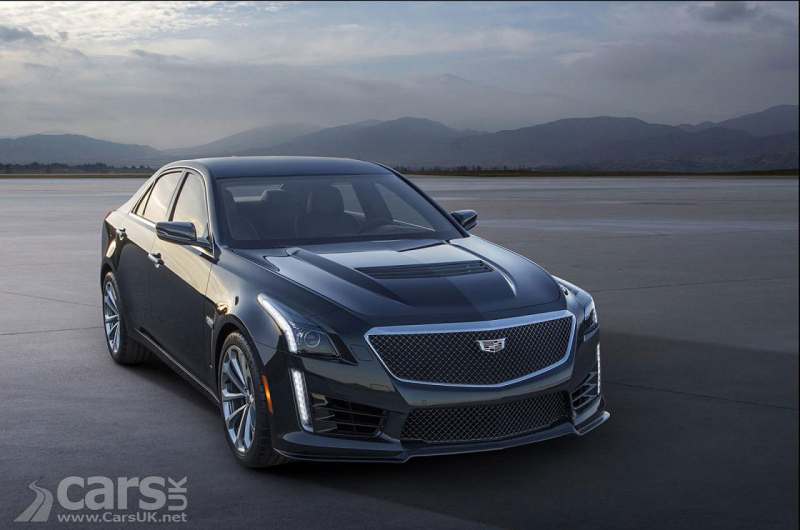 2016 Cadillac CTS-V Pictures