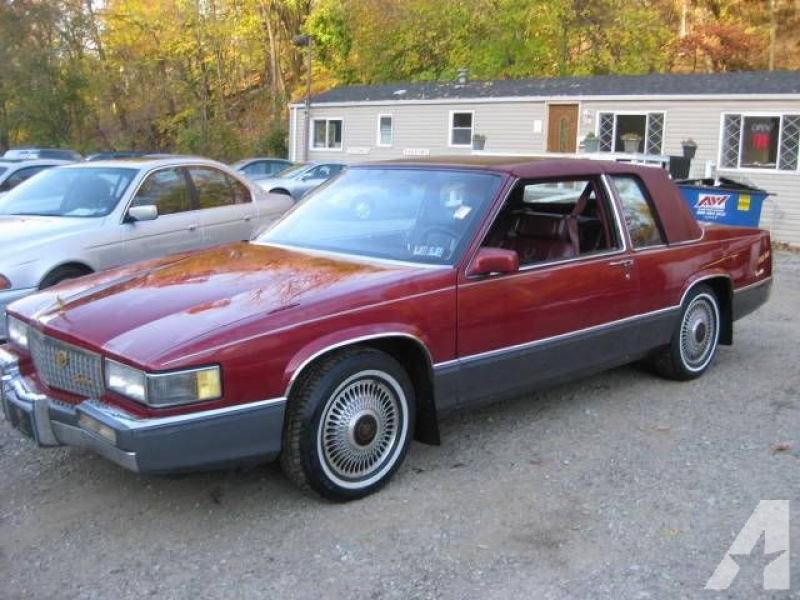 1989 Cadillac DeVille for sale in Pittsburgh, Pennsylvania