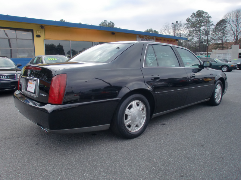 Picture of 2004 Cadillac DeVille Base, exterior