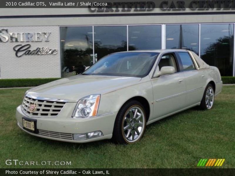 2010 Cadillac DTS in Vanilla Latte. Click to see large photo.