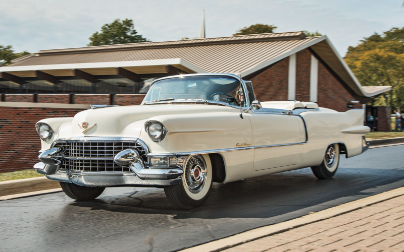 1955 Cadillac Eldorado vs. 1955 Packard Caribbean vs. 1956 Lincoln ...