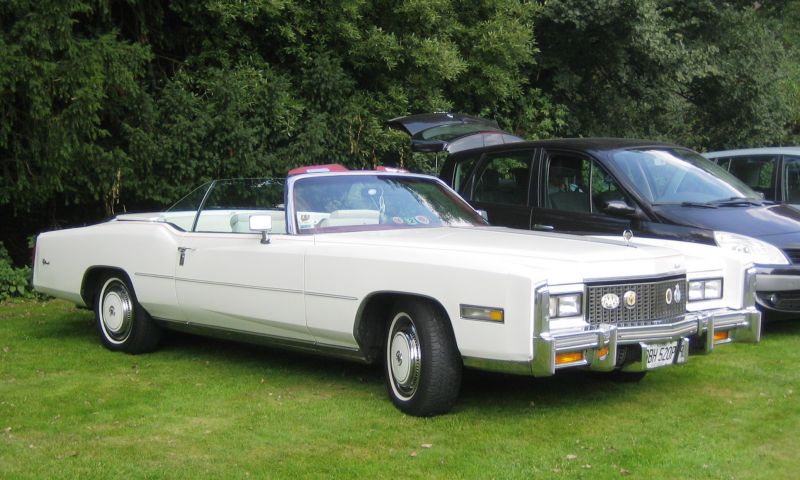 Description Cadillac Eldorado cabriolet Castle Hedingham 2008.JPG