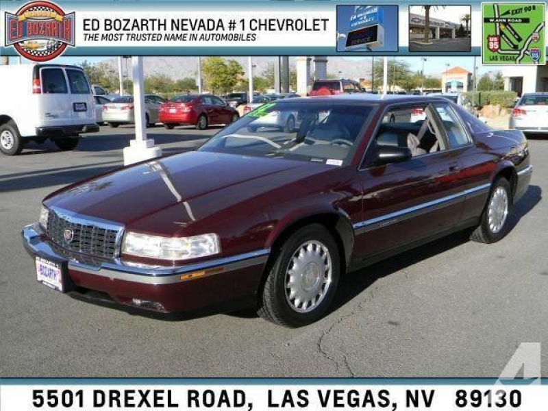 1992 Cadillac Eldorado for sale in Las Vegas, Nevada