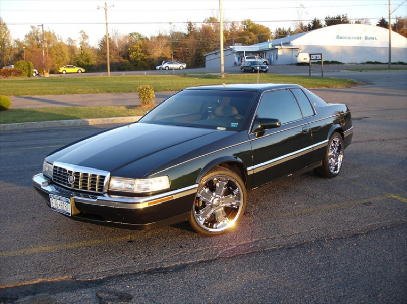 1993 cadillac eldorado for sale 1993 cadillac eldorado on dubs w t