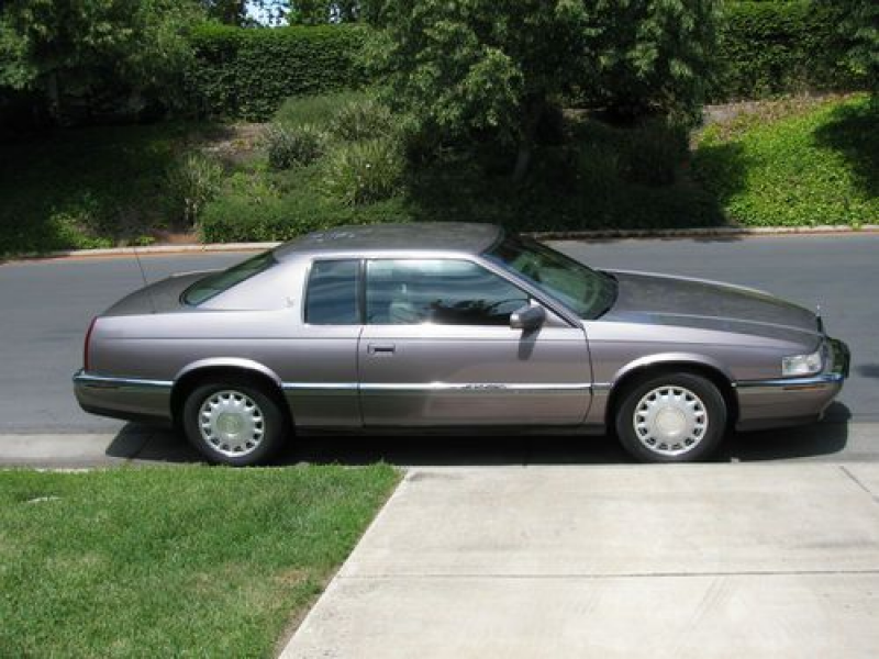 "1993 Cadillac Eldorado Coupe ""rare"" Color--digital Dash--column Shift ..."