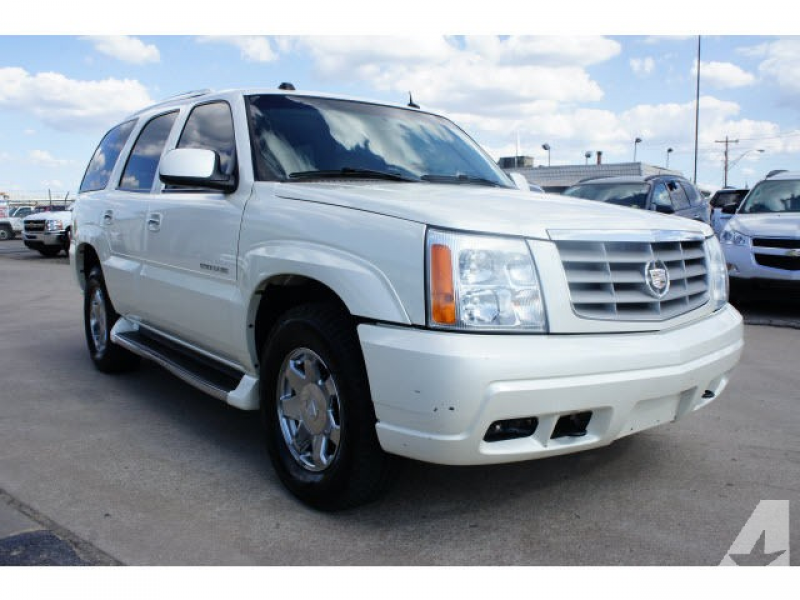 2004 Cadillac Escalade on Details For 2004 Cadillac Escalade Price ...