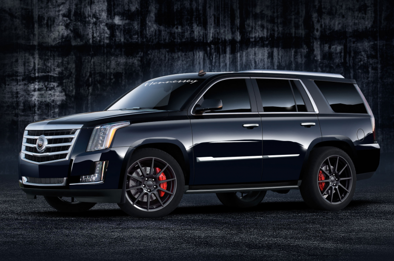 2015 Cadillac Escalade Hennessey HPE550 Boasts 557 HP Photo Gallery
