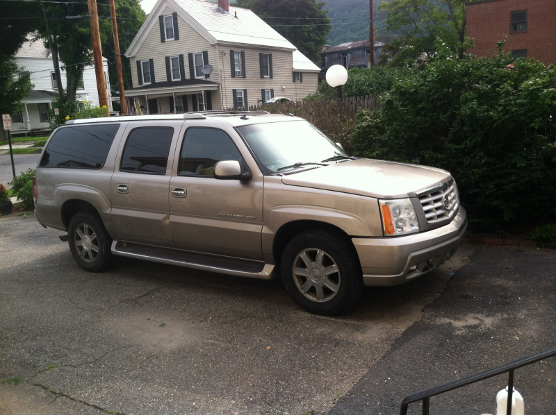 What's your take on the 2003 Cadillac Escalade ESV?