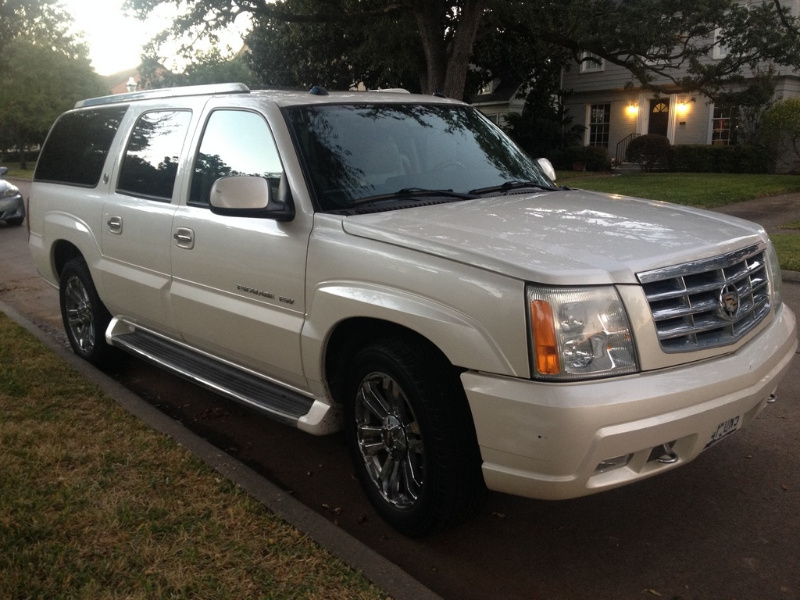 What's your take on the 2004 Cadillac Escalade ESV?