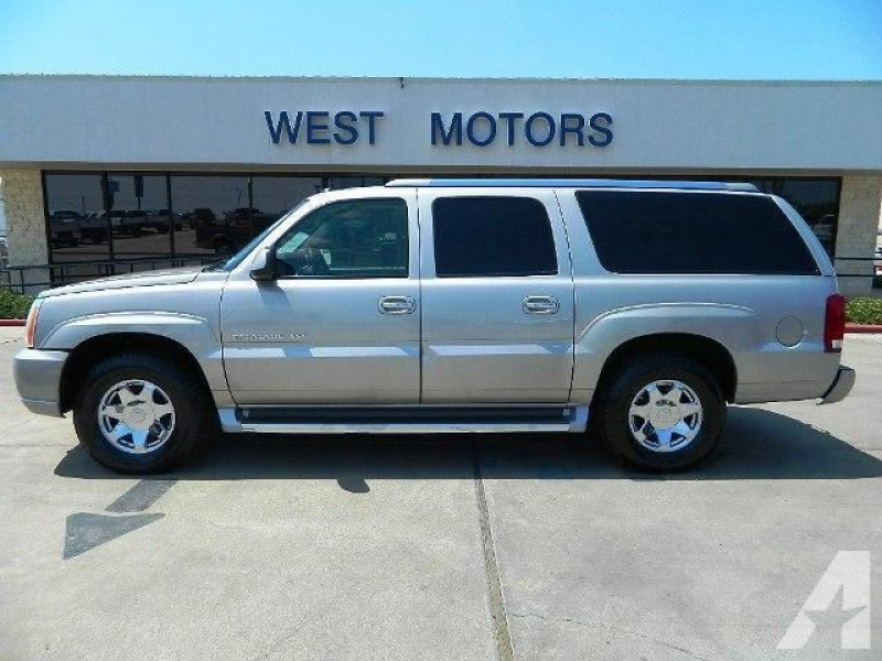 2004 Cadillac Escalade ESV for sale in Gonzales, Texas