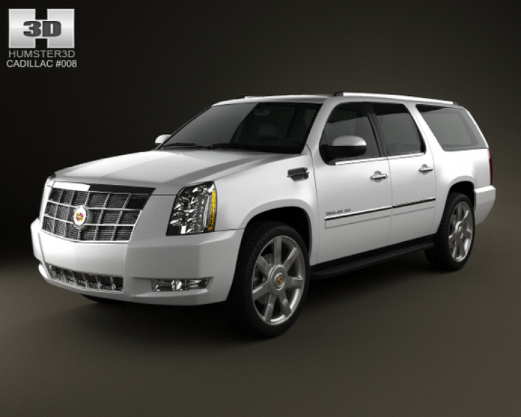 Cadillac Escalade ESV 2011 3D Model
