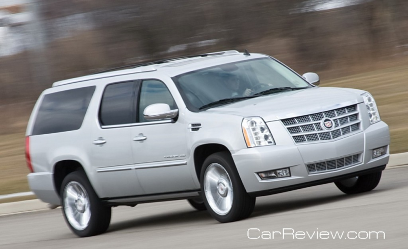 2011 Cadillac Escalade ESV Platinum Review
