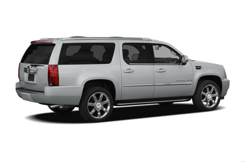 2012 Cadillac Escalade ESV SUV Base 4x2 Exterior Back Side View
