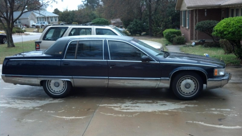 Picture of 1996 Cadillac Fleetwood Base Sedan, exterior