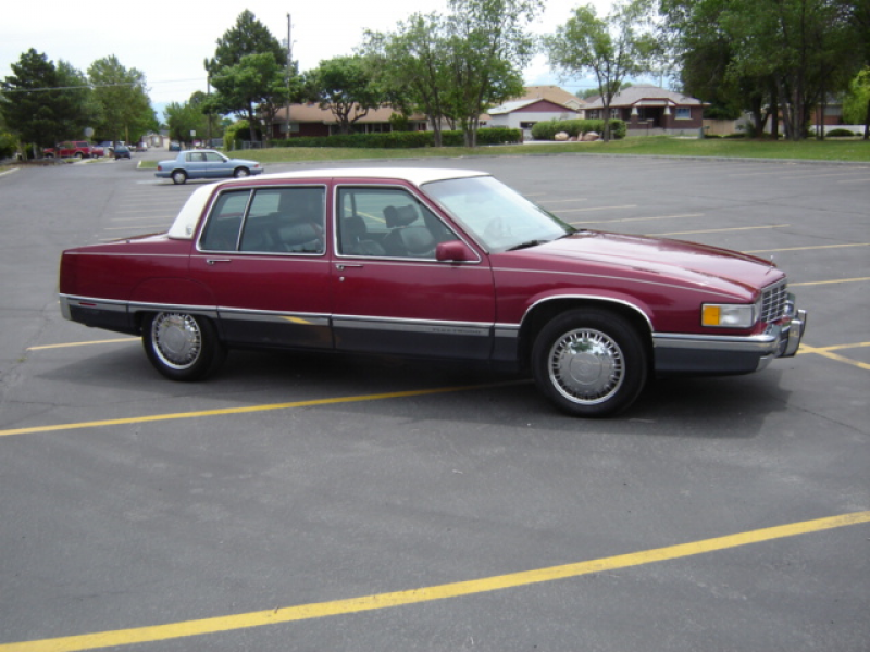 Picture of 1991 Cadillac Fleetwood Base Sedan, exterior