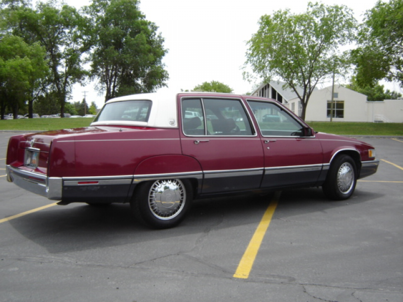 1991 Cadillac Fleetwood Base Sedan, 1991 Cadillac Fleetwood 4 Dr STD ...
