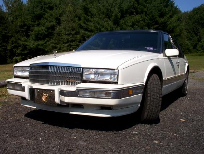 1990 cadillac seville 90 seville white w blue leather system speed a