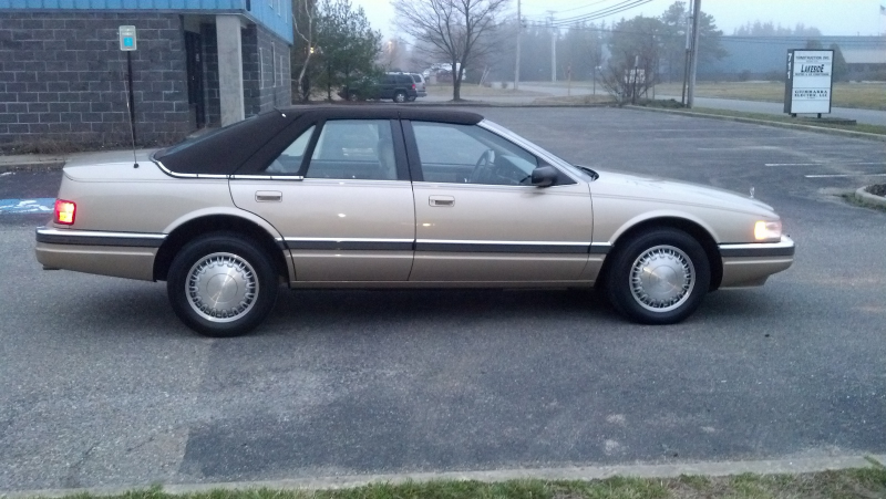 cadillac did an extreme makeover on the seville for 1992