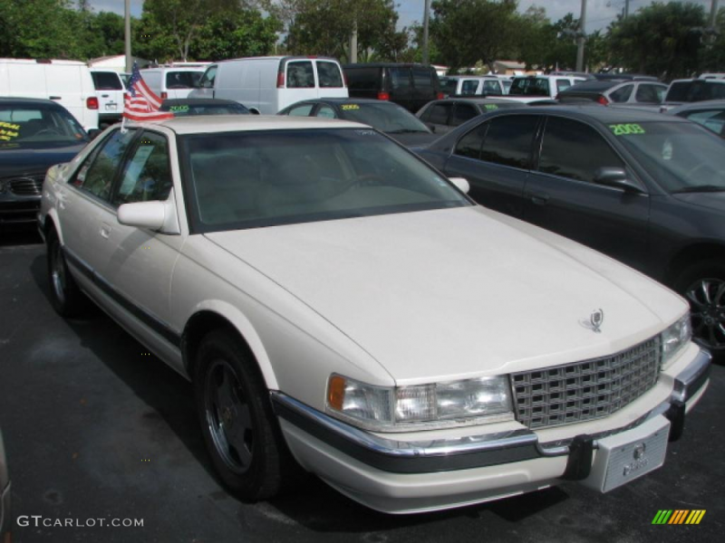1993 cadillac seville white diamond pearl color ivory interior 1993 ...