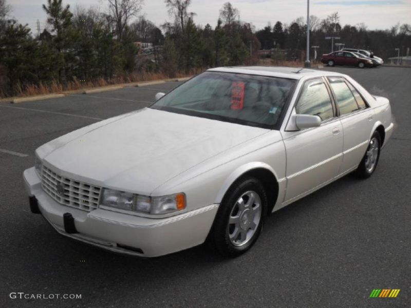 White 1995 Cadillac Seville STS Exterior Photo #43461457