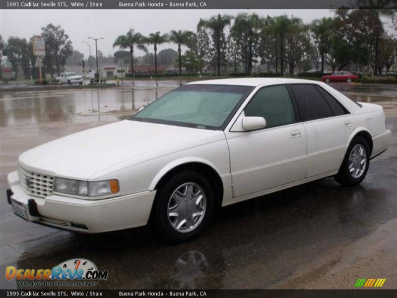 1995 Cadillac Seville STS White / Shale Photo #3
