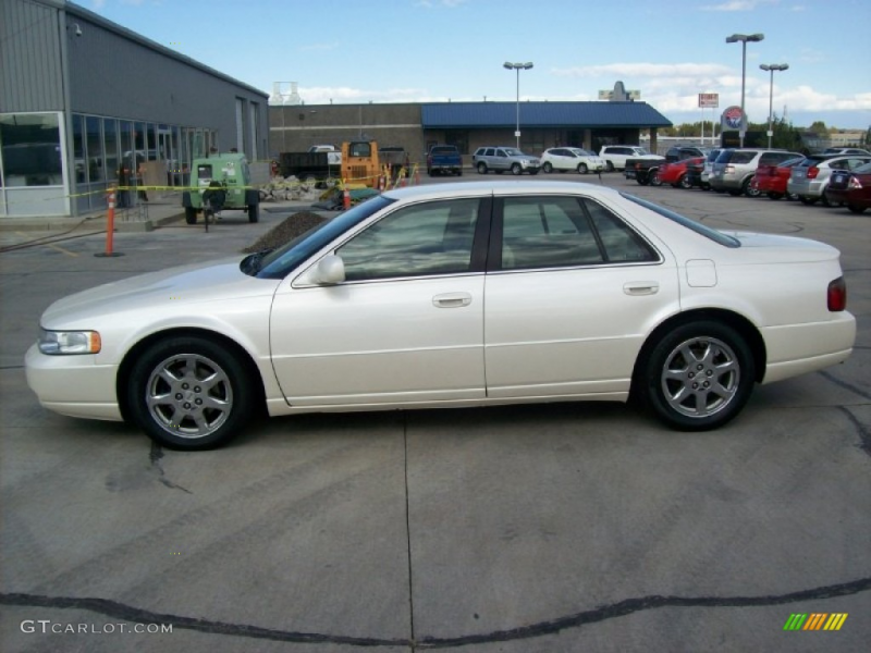 White Diamond 2003 Cadillac Seville STS Exterior Photo #55798772