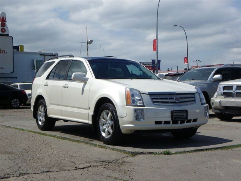 2007 Cadillac SRX V6-AWD-LEATHER-SUNROOF in Calgary, Alberta