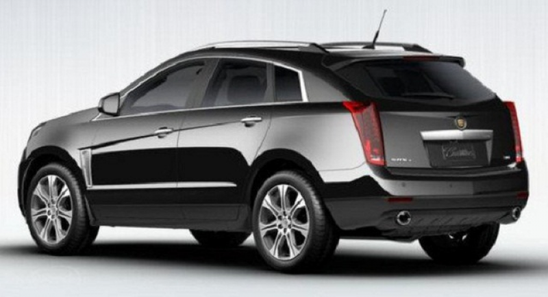 2015 Cadillac SRX Exterior and Interior