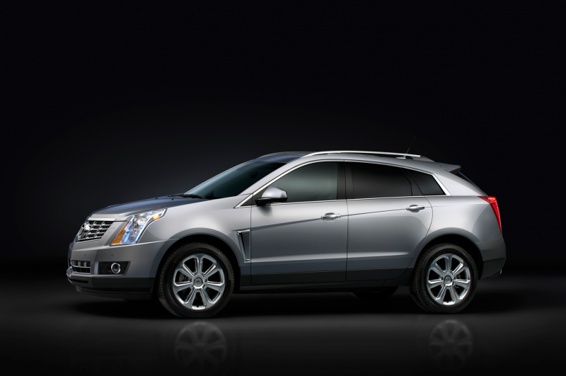 2015 Cadillac SRX side profile