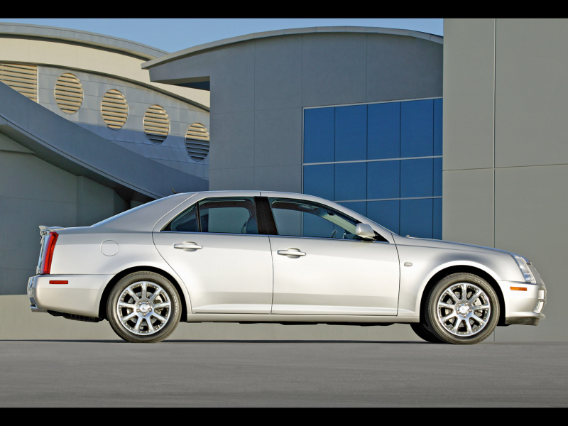 2005 Cadillac STS - Side - 1920x1440 Wallpaper