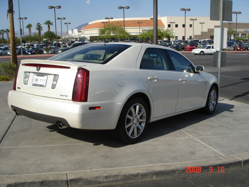 2006 Cadillac STS V6, 2006 Cadillac STS in White Diamond with a ...