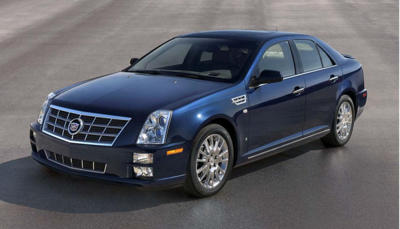 2008 Cadillac STS - Photo Gallery