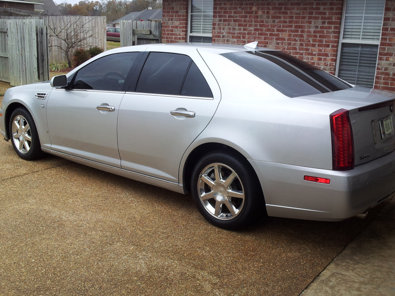 picture of 2009 cadillac sts v6 luxury exterior