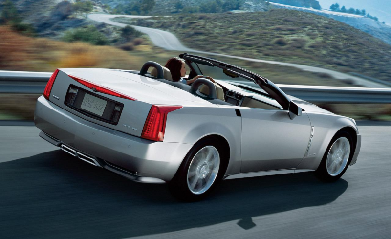 Modern Collectibles Revealed: 2009 Cadillac XLR-V
