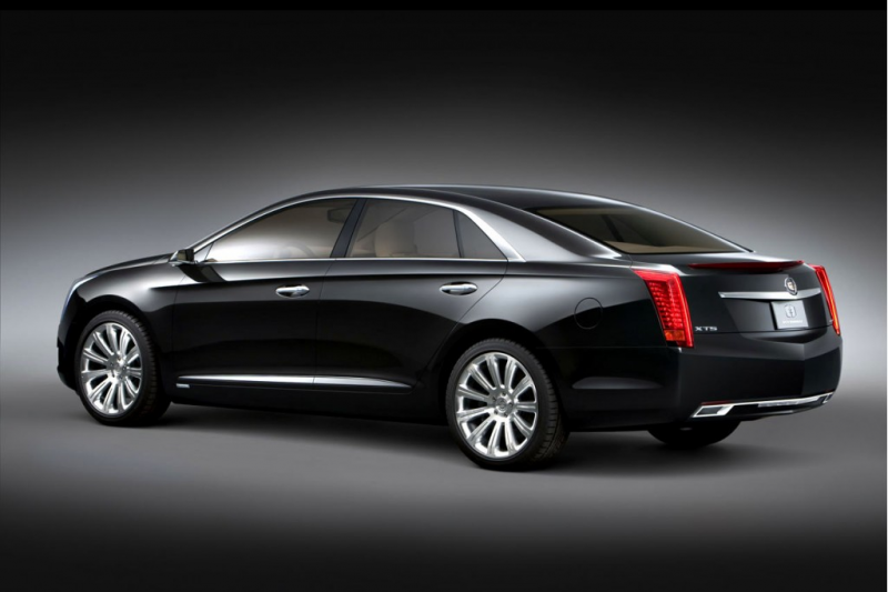 Detroit 2010: Cadillac XTS Platinum Concept Previews Cadillac's New ...